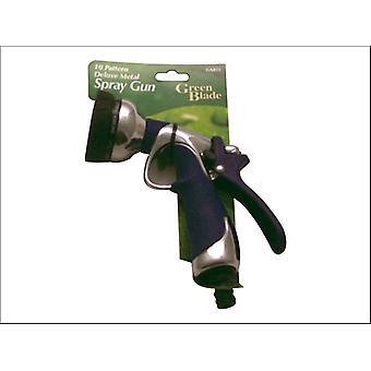 Green Blade Deluxe Metal Spray Gun 10 Pattern BB-GA053