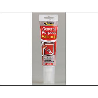 Everbuild Easi-squeeze General Purpose Silicone White 80ml
