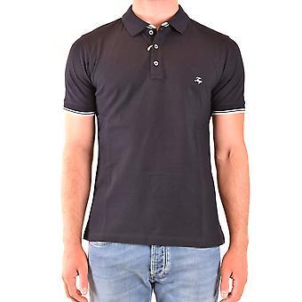 Fay Ezbc035078 Men's Blue Cotton Polo Shirt