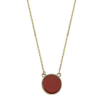 Collier d'or en pierre d'Agate