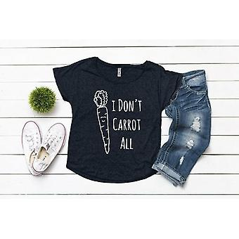 I Don't Carrot All Printed Shirts Vrouwen Peuters