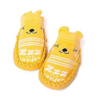 Βρέφος πρώτη περιπατητές κινούμενα σχέδια μωρό / νήπιο, βαμβάκι νεογέννητα παπούτσια, μαλακό σόλα