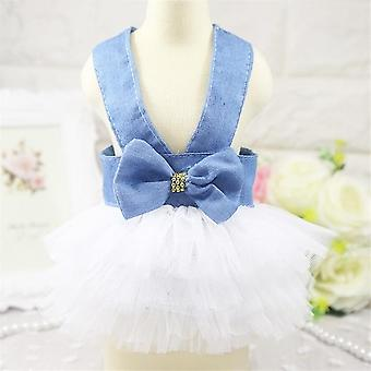 Summer Dress For Dog Clothes, Wedding Dress Skirt Puppy Clothing Spring Dresses