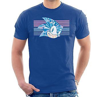 Sonic The Hedgehog Kiiltävä Prisma Miesten't-paita