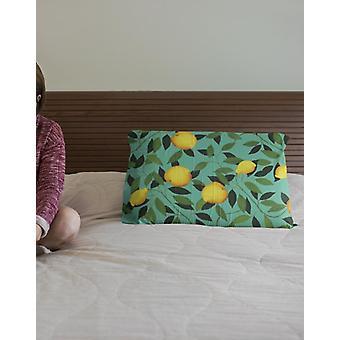 Sitruuna suorakulmion tyyny