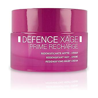 Defense Xage Prime Recharge Redensifying Night Cream 50 ml of cream