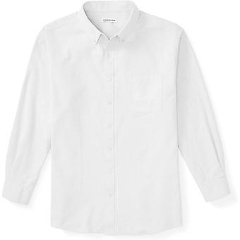 أساسيات الرجال & apos&ق كبيرة وطويلة الأكمام الطويلة جيب أكسفورد قميص أكسفورد تناسب من قبل DXL...