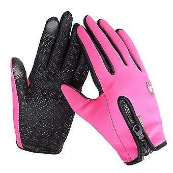 Winter Warm Touch Screen Fishing Gloves, Waterproof Ski Army Cycling Windproof