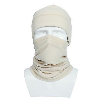 Warmer Schal zweiteilige Winter stricken Hut/Wolle Mütze, waschbar und wiederverwendbare Mund Gesicht