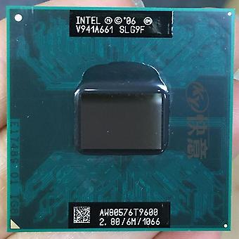 Intel Cpu Core 2 Duo T9600 Cpu 6m Cache/2.8ghz/1066/Dual-Core Sockel 478