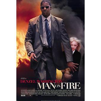 Man on Fire elokuvan juliste tulosta (27 x 40)