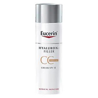 Eucerine Hyaluron-Filler CC Crème spf15 + 50 ml
