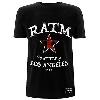 Rage Against The Machine Battle Star Official Tee T-Shirt Mens Unisex