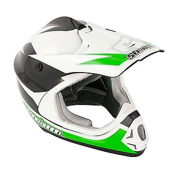 Stealth HD204 GP Replica Kids MX Helmet - Green