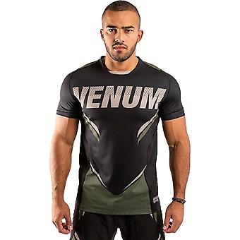 Venum One FC Impact Torr Tech T-Shirt Svart / Khaki
