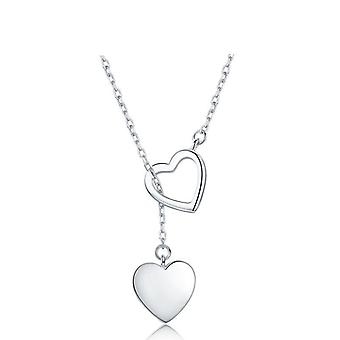Sterling Silver Necklace, Pendant  Heart High Quality Fine Silver Jewelry