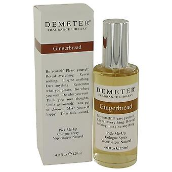 Demeter Gingerbread Cologne Spray By Demeter 4 oz Cologne Spray