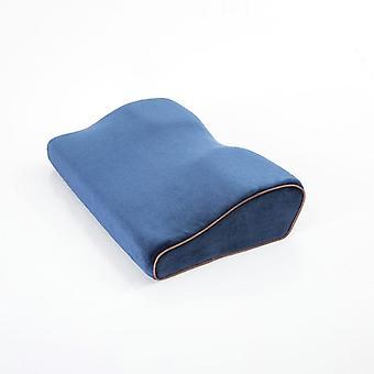 Memory Foam Bedding Pillow Shaped Ergonomic Cervical Sleeping Comfortable Neck