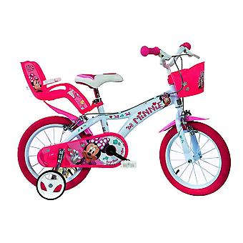 Dino Bikes Minnie Mouse Licensed 14 Inch Bicycle