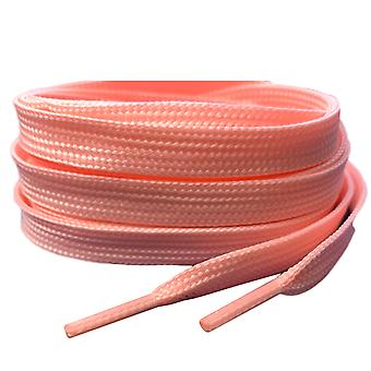 Pink Pastel Flat Trainer Shoelaces Laces