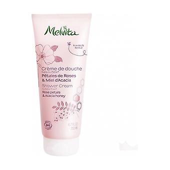 Organic Acacia Rose & Honey Shower Cream 200 ml