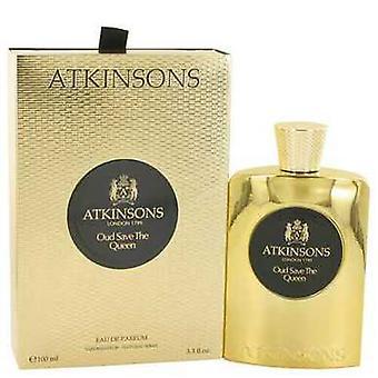 Oud Save The Queen van Atkinsons Eau de Parfum Spray 3.3 Oz (vrouwen) V728-530195