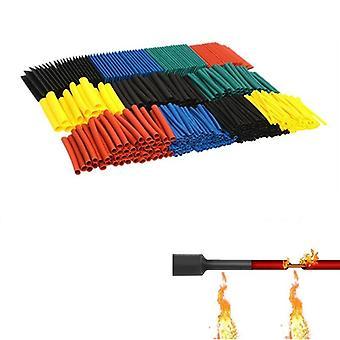 164pcs/set Heat Shrink Tube Kit Insulation Sleeving Termoretractil Tubing Wire