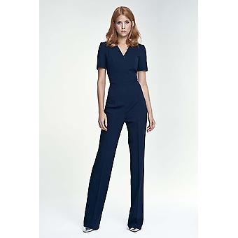 Marineblauwe nife broek&leggingsvz68333