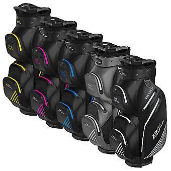 Powakaddy 2021 Dri-Tech Waterproof Lightweight 14 Way Golf Cart Bag