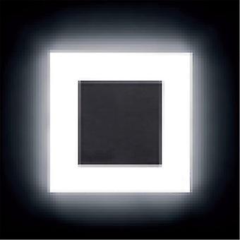جدار جديد أدى ضوء 3W مربع الاكريليك جدار الشمعد توقف footlight داخلي درج خطوة الزخرفية ليلة أضواء مصباح الجدار الحديث