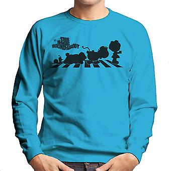 The Magic Roundabout Characters Silhouette Men's Sweatshirt
