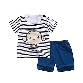 Summer Clothing Set Including T-shirt And Shorts (set-3)