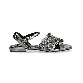 Sapatos femininos Sândalo Liu-jo Astra Pewter Ds21lj21 Sa1021