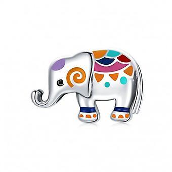 Sterling Silber Charm Elefant - 7072