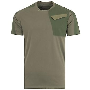 Maharishi Riverine 2.0 Tech Organic Cotton T-Shirt - Olive