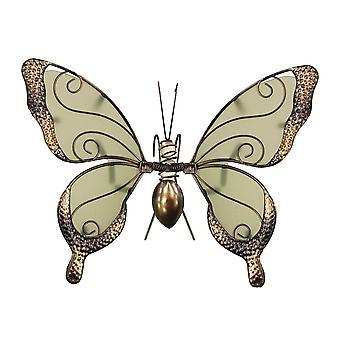 Primus-lasisiipi hehkuu tummassa perhosruukun ripustin