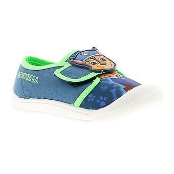 Paw Patrol vincent Younger Boys Canvas Shoes UK 4-9 UK Size