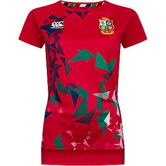 British & Irish Lions Womens Lightweight Graphic T Shirt