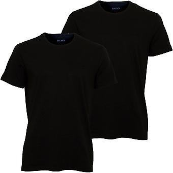BOSS 2-Pack T-Shirt Con collo equipaggio rilassato-fit, nero