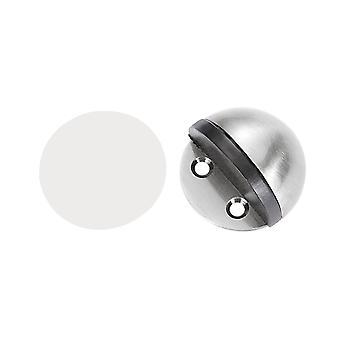 Golv Runda rostfritt stål Dörr Propp Silver