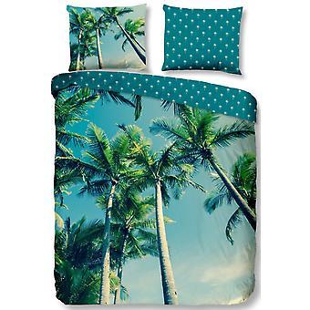 duvet cover Palm 240 x 220 cm microfiber 3-piece