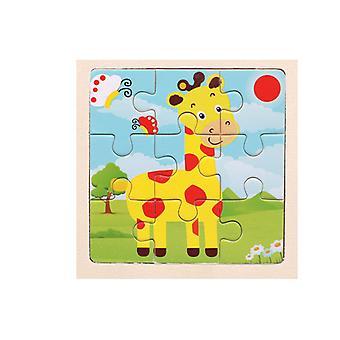Puzzles Spielzeug Kinder frühe Bildung intellektuelle Puzzle Cartoons Geschenk pt178