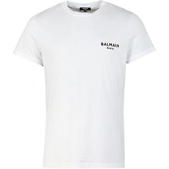 Camiseta do logotipo da Balmain Script