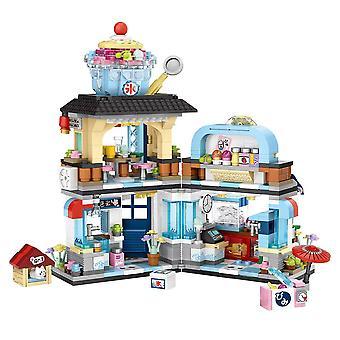 Street View japanske Food Ice Shop byggesten