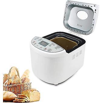 Wokex Brotbackautomat Brotbäcker mit 19 Backprogramme, 3 verschiedene Bräunungsgrade, 3 Brotgrößen,