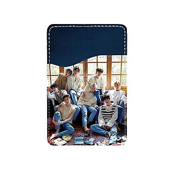 K-pop Stray Kids Adhesive Card Holder For Mobile Phone