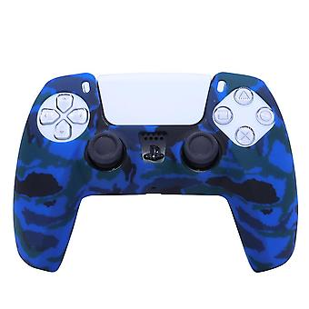 For playstation 5 ps5 handle silicon rubber sleeve oil painting