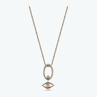 Alle øjne på dig Diamond halskæde