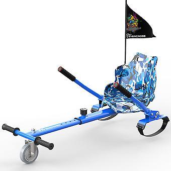 CitySport HoverKart para todos los tamaños Hoverboards Ir kart con Bandera