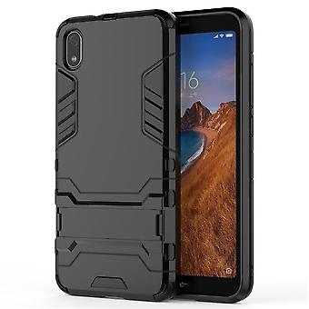 Shockproof case for xiaomi 8 se with kickstand black pc5072